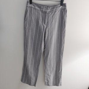 Loft stripped pants